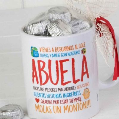 Mugs decorados con dulces