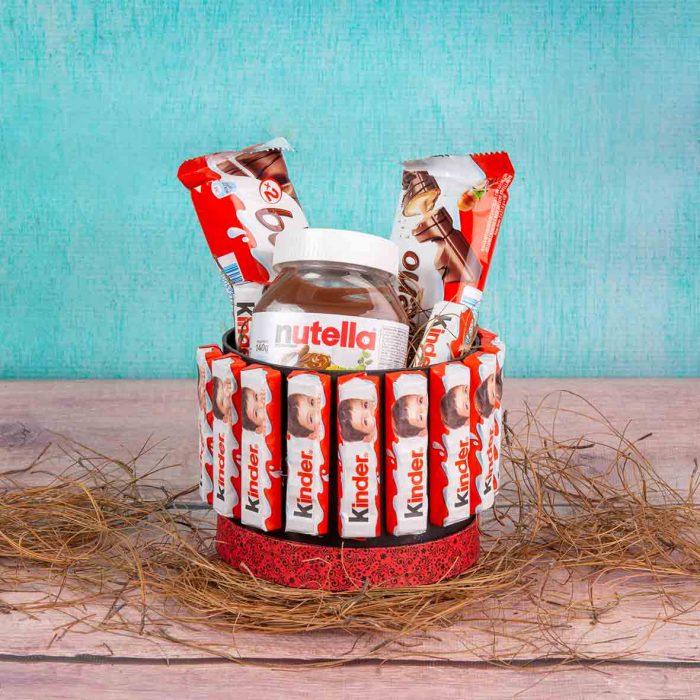 Nutella y Desayunos originales para cumpleaños
