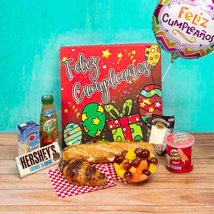 Envia en el Cumpleaños un rico desayunos sorpresa