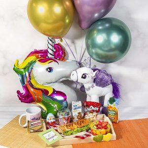 desayuno de unicornio
