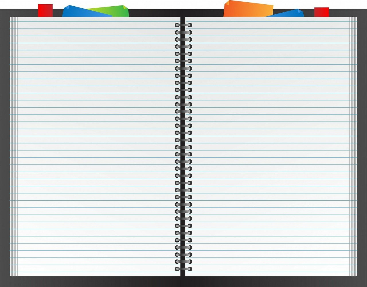 notebook, book, planner