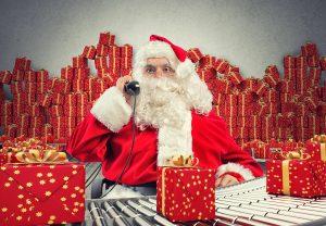 entrega de anchetas navideñas